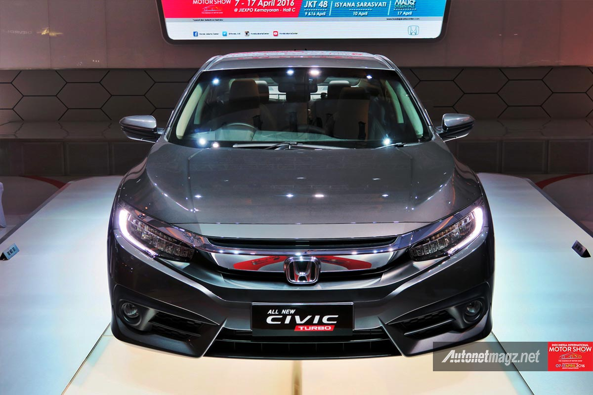 honda civic turbo indonesia front
