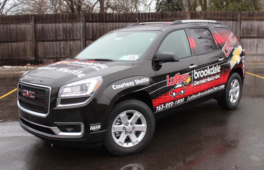Auto Performance Studio Luther Brookdale Vehicle Vinyl Wrap