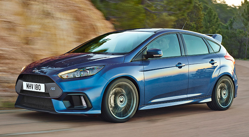 ford focus rs 2016 a precios desde 44 450 en espa a autos hoy. Black Bedroom Furniture Sets. Home Design Ideas