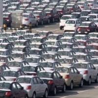 Feria de vehículos chinos en Santo Domingo