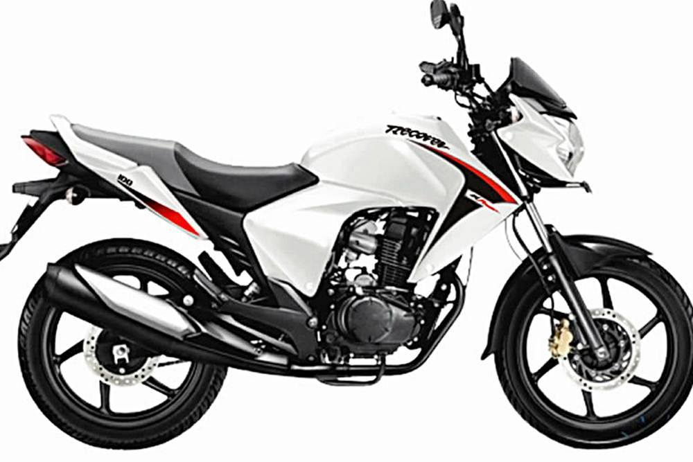 H Power Recover Motorcycle Specification