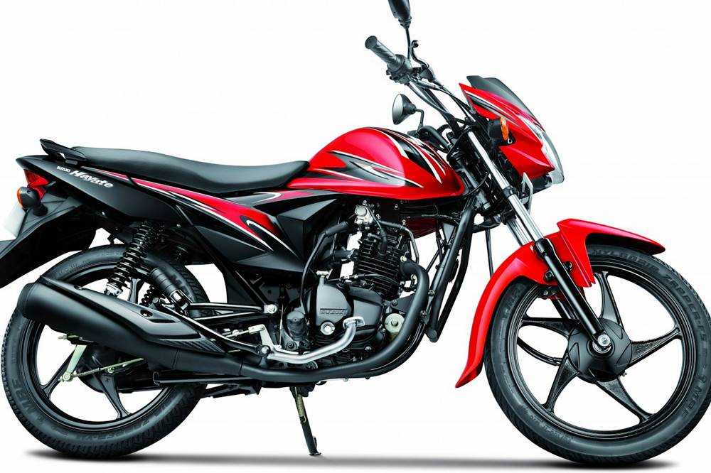 Suzuki Hayate Motorcycle Specification