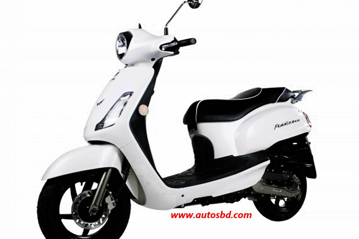 SYM Fiddle II 50 Scooter Specification