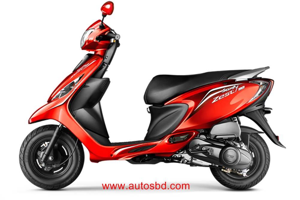 TVS Zest 110cc Motorcycle Specification
