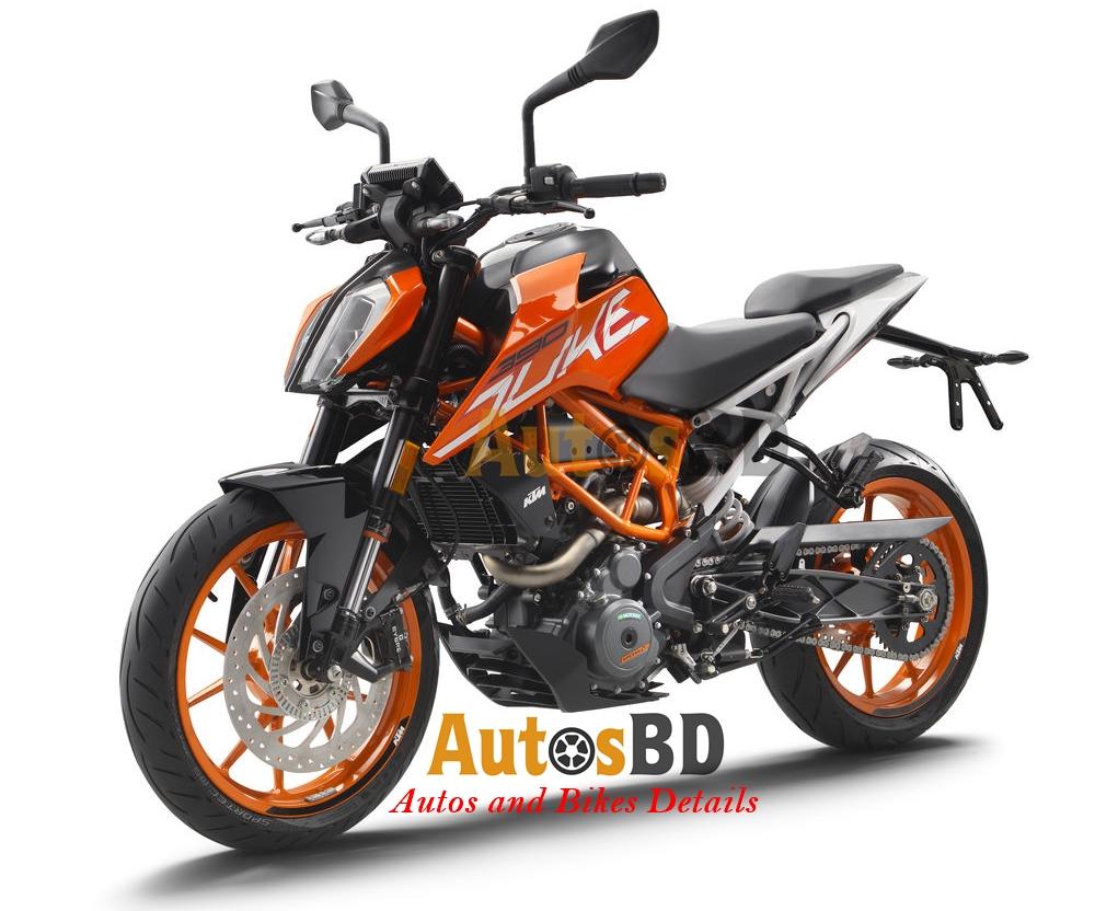 KTM 390 Duke (2017) Motorcycle Specification