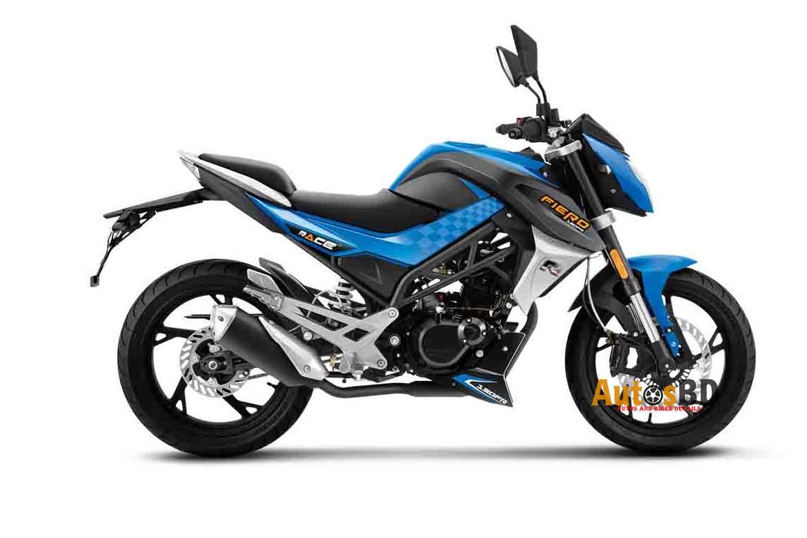 RACE FIERO 150FR Motorcycle Specification