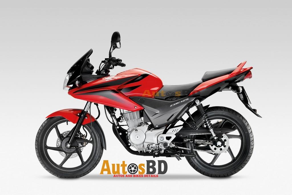 Honda CBF Stunner 125 Motorcycle Specification