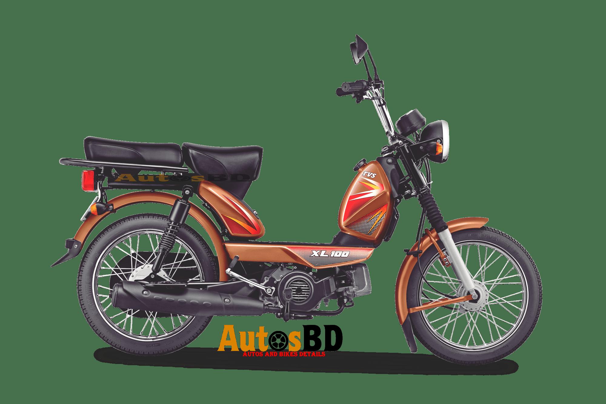 TVS XL 100 Motorcycle Price in Bangladesh