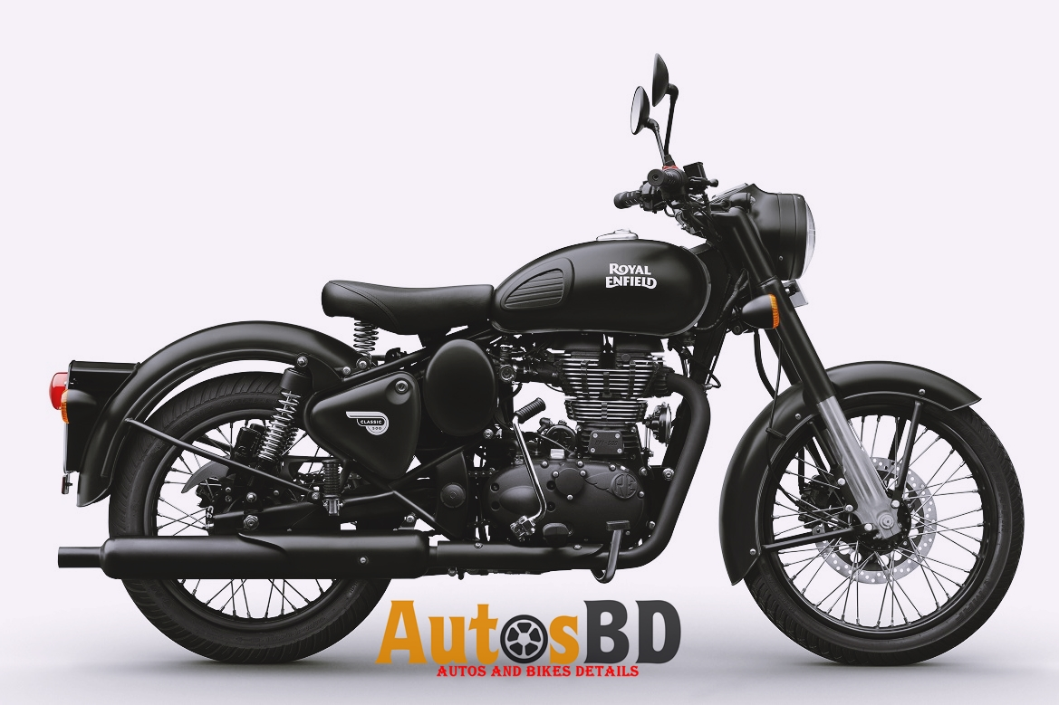Royal Enfield Classic 500 Rear Disc (Stealth Black) Motorcycle Price in India
