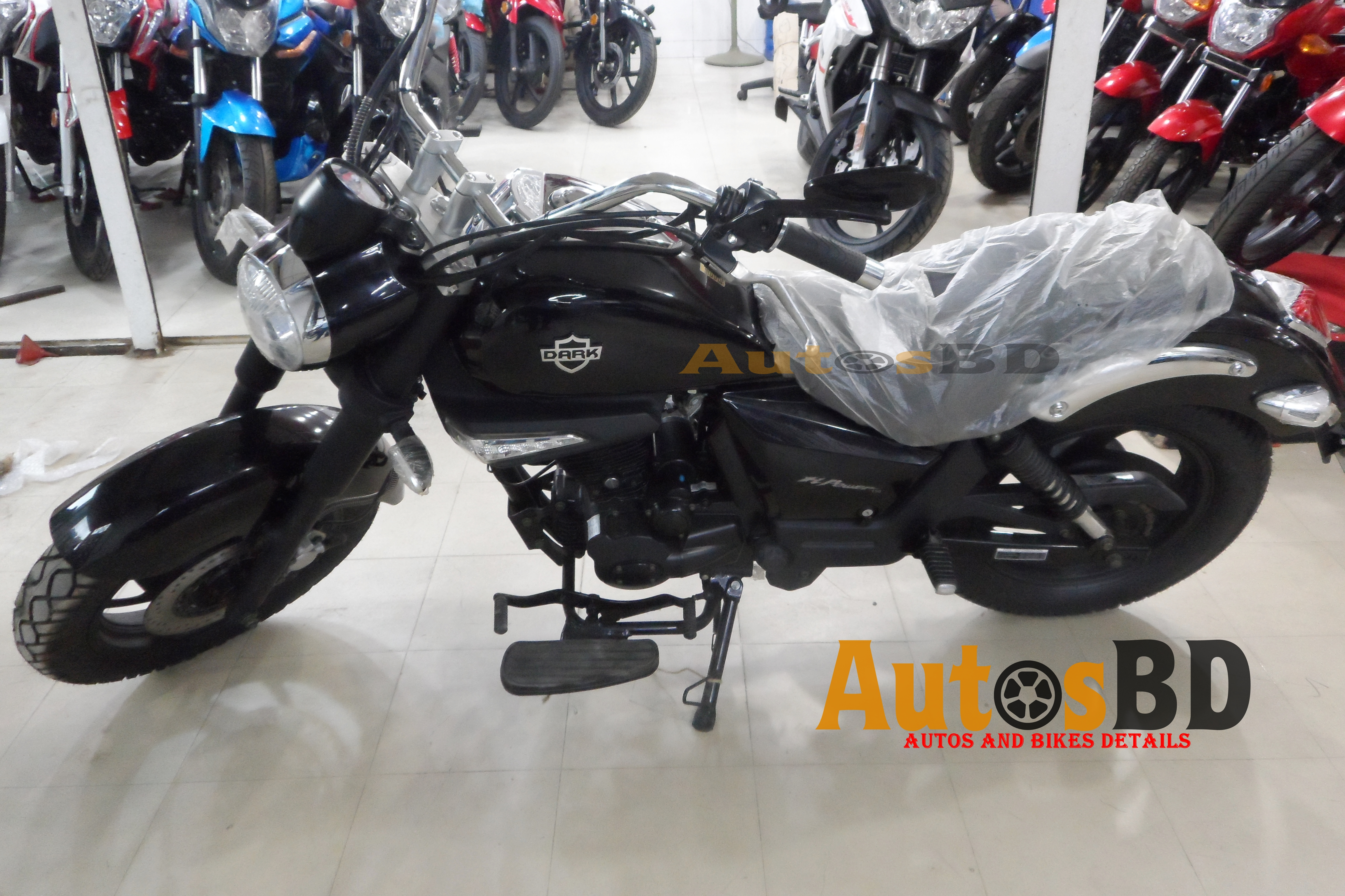 H Power Dark Motorcycle Specification
