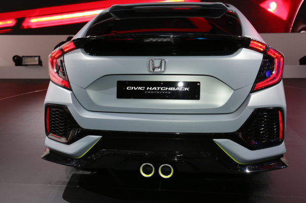 Novo Civic Hatch 2017 - Fotos e Informações | Autos Novos