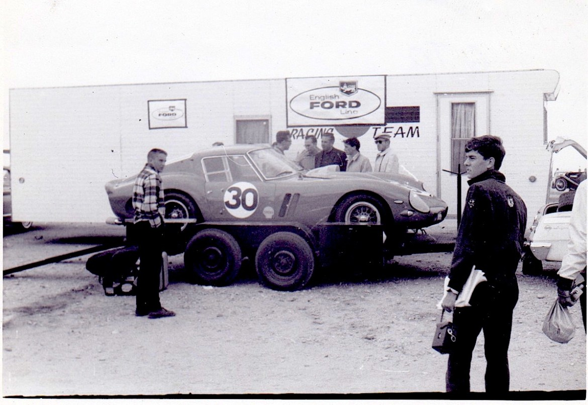The Mastroianni Family Ferrari GTO getting ready to do battle.