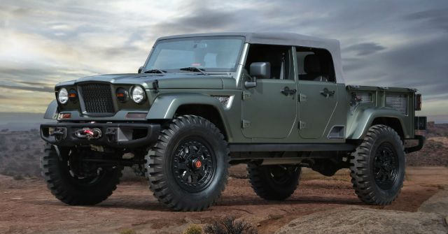 The Jeep Pickup Truck is Spied Again