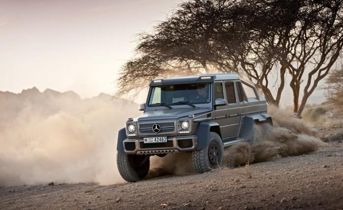 Best cars to buy - Mercedes Benz G63 - 6x6