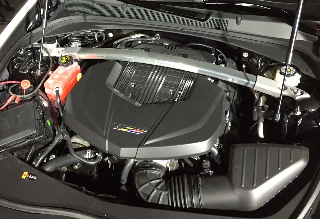 Cadillac CTS-V 2016 Engine
