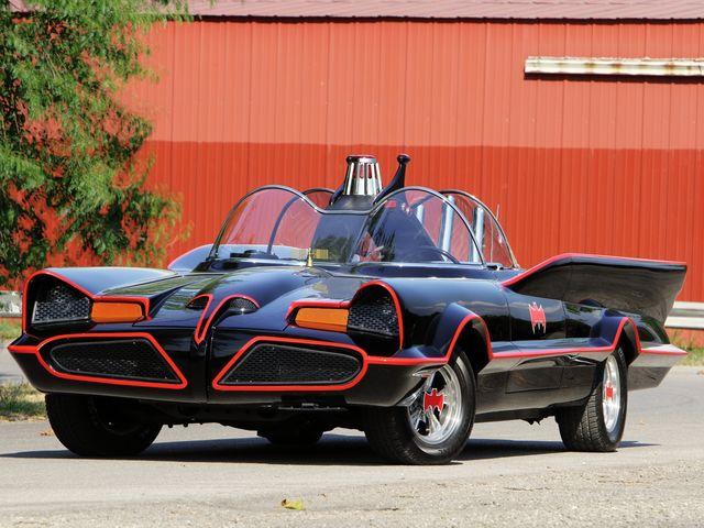 The Batmobile in Qatar