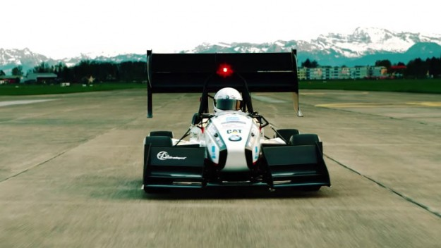 Electric Car Hits A New Speed Record - grimsel