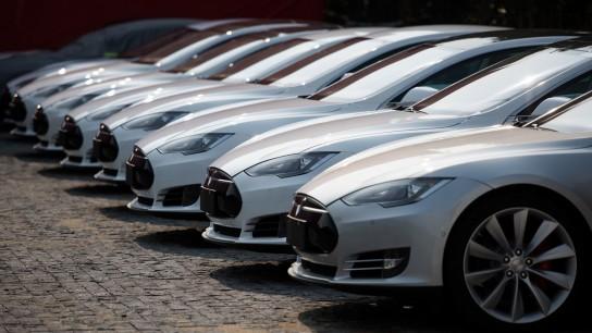 Tesla cars in Qatar
