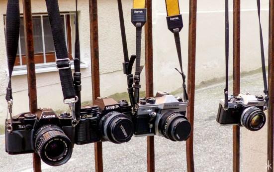 Noch mehr alte Kameras