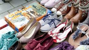 Haufenweise Schuhe