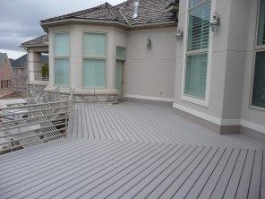 Trex decking. yes, we do that too.