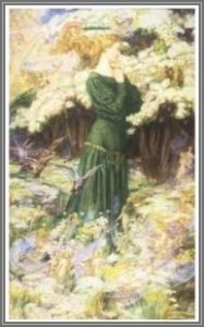 The Lovers' World, 1905, by Eleanor Fortescue-Brickdale