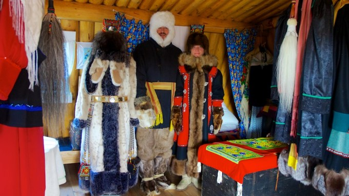 The first private museum of national costume in Yakutia. Photo © 2013 Galya Morrell