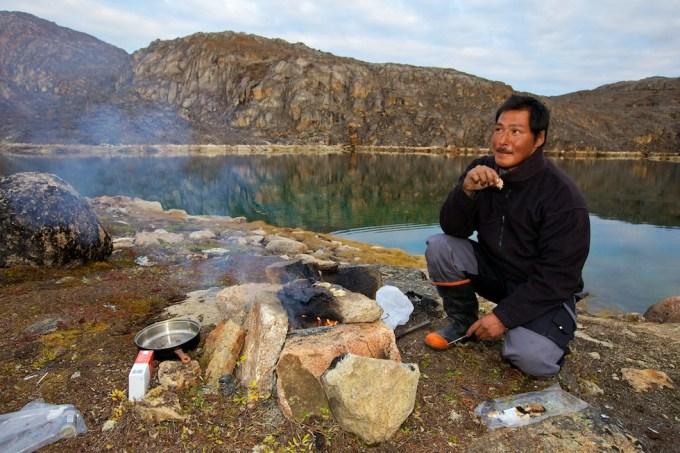 The Great Polar Bear Hunter. Aappilatoq, Northern Greenland.