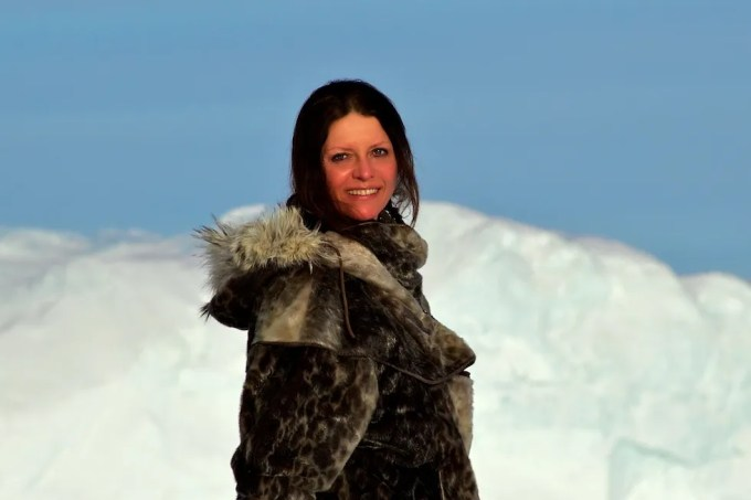 Galya Morrell, ColdArtist. Photo © 2010 Ole Jorgen Hammeken