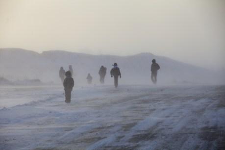Blizzard in Chukotka. Photo © 2013 Galya Morrell