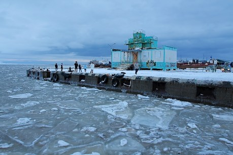 Chukotka in November. © 2013 Galya Morrell
