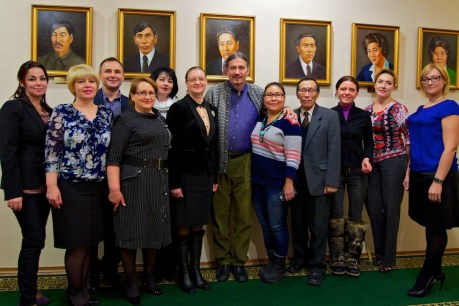 Greenland Day in the Parliament of Chukotka.