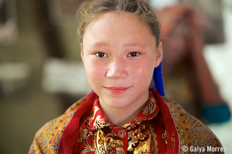 Nenets Girl. Photo © 2014 Galya Morrell