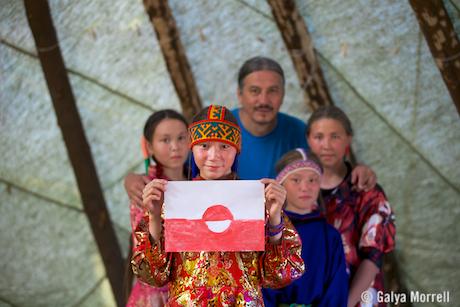 From Nenetsia to Greenland. Photo © 2014 Galya Morrell