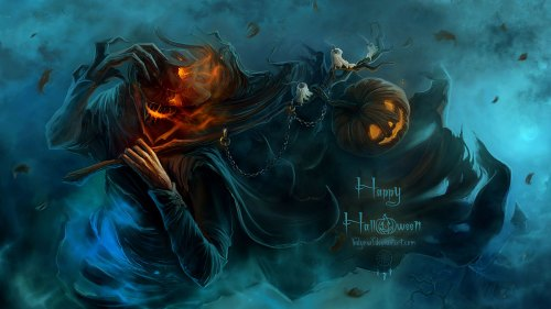 Medium Of Creepy Halloween Pictures