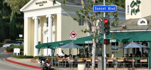 Sunset Plaza, Sunset Blvd. Los Angeles, CA -- setting for Part 2 of Chapter 1