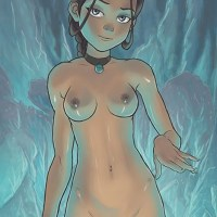 Things are getting really hot in the southern water tribe with the water bender Katara...