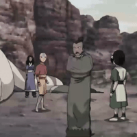 Today Toph will train Aang to keep his dick rock hard at least for few minutes