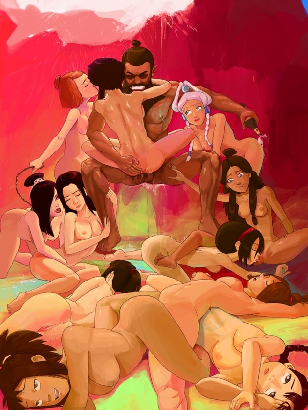 Aang And Katara Doing It