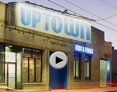 Video tour of Uptown Body & Fender