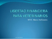 LIBERTAD FINANCIERA PARA VETERINARIOS