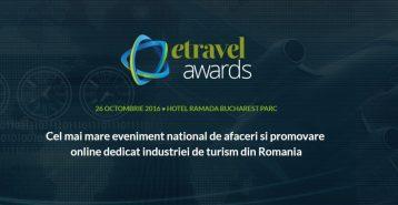 """Aventurescu a fost nominalizat pentru premiul """"Best Bloggers' Projects"""" in cadrul eTravel Awards 2016"""