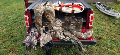 Getting Dressed Before The Hunt and Staying Scent Free