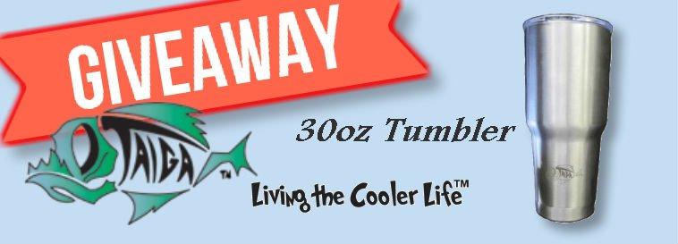 Taiga Coolers 30oz Tumbler Giveaway
