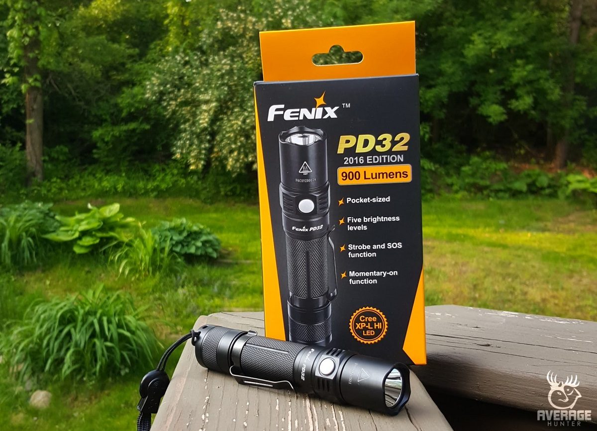PD32 Fenix Lighting Flashlight Review