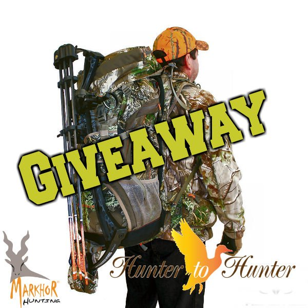 Markhor Hunting Backpack Giveaway