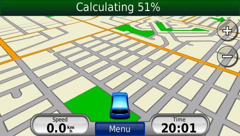 Nuvi 765t Calculating 51%