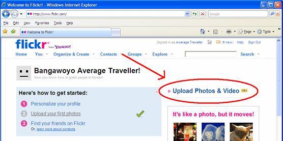 Flickr Upload Photos