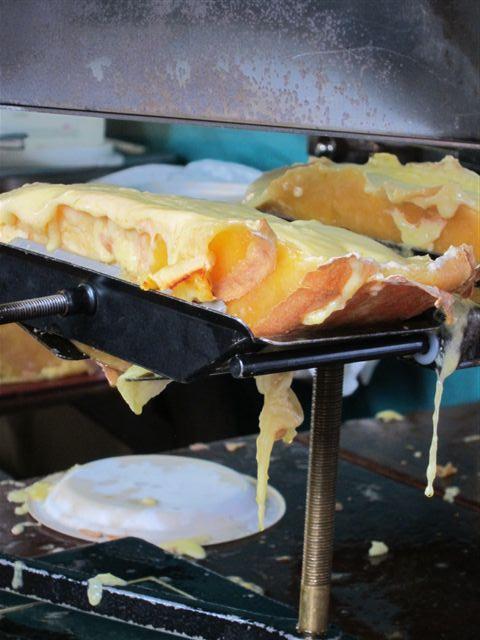 Raclette at Borough Market