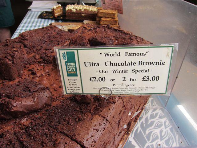 Flour Power Ultra Chocolate Brownies Borough Market